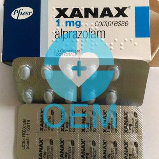 Xanax Blister Packing